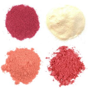 Natural Fruit and Vegetable Powders